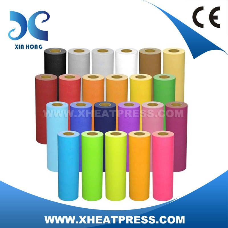 High quality PU heat transfer Vinyl / film,IRON ON T-shirt Heat Transfer