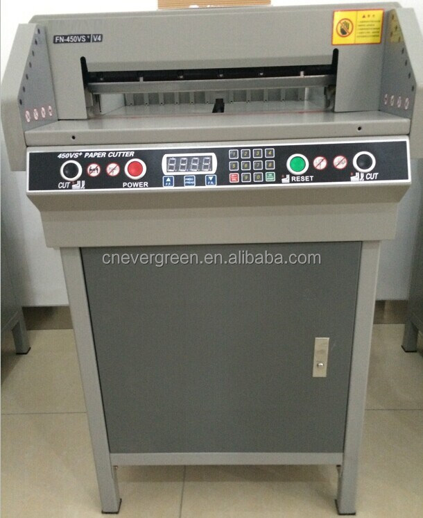 450mm small paper cutter 450VS+ electric guillotine paper cutter