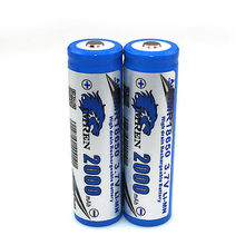 From 2000mah to 2600mah foc power bank for machine, imr 18650 38a battery