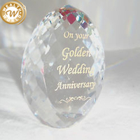crystal wedding anniversary souvenirs