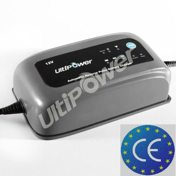 Ultipower 12V 6A smart waterproof marine battery charger