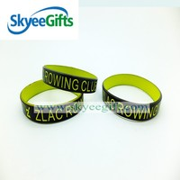 Double Sided Silicone Wristband For Sale
