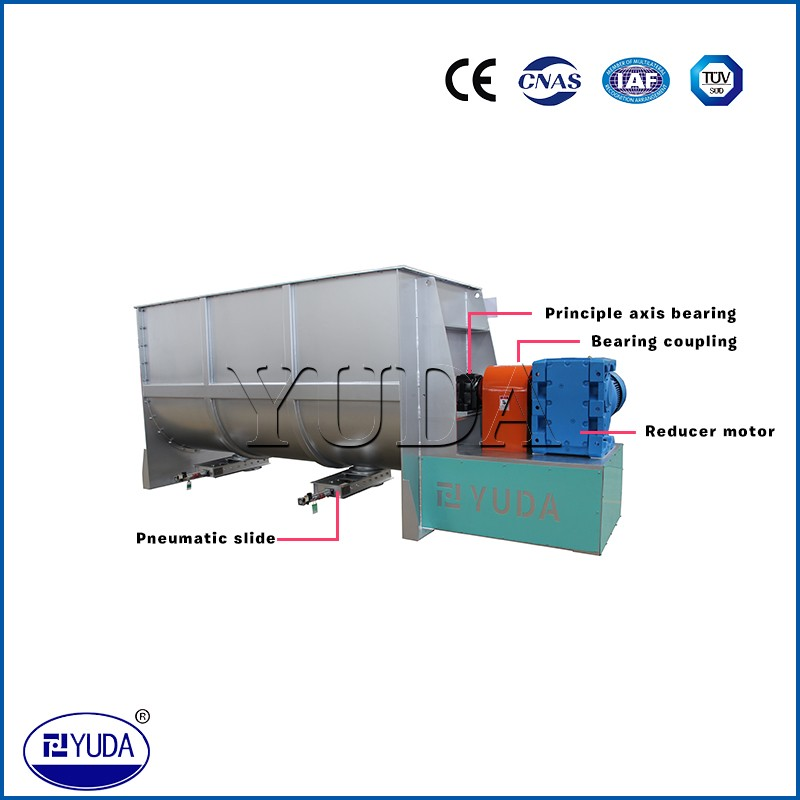 Chinese automatic mixing machine animal feed food powder mixer machine