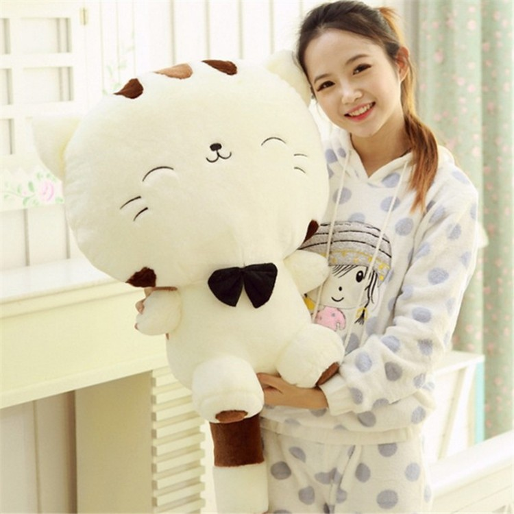 where can i buy big lovely cartoon bow cat plush with big tail stuffed animals