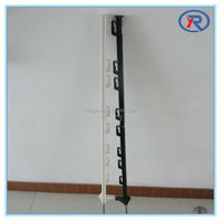 Electronic Solid Plastic Fence Post,tread in post,step in posts