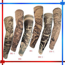 EH098 Fashion Fake Tattoo Sleeve Temporary Body Arm totem Stockings Men Accessories