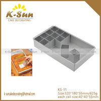 K-sun Create Baking Mold Aluminium alloy Alphabet Cake Pan Cake Tin any Letter alphabet Number Diagrams reposteria