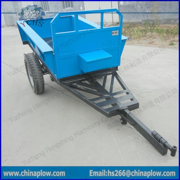 Power tiller trailer