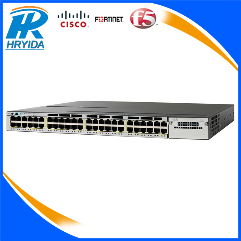 hot selling 48 Ports WS-C3850-12S-S cisco switches WS-C3850-48F-S