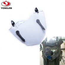 Headlight Cover For B MW R1200GS WC 13- ADV WC 14- Transparent Headlight Guard Headlight Protector