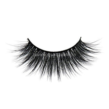 Long Thick Dramatic Look Handmade Reusable 3D Mink False Eyelashes For Makeup 1 Pair Pack