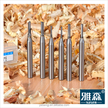 Drilling hole knives straight router cutter for MDF and hardwood