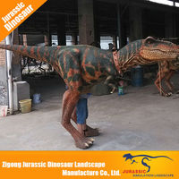 New products robotic walking t-rex dinosaur costume