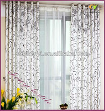 new floral printing curtain of beautiful design curtain/fabric new fashion desigh