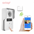 ACTOP Wireless IP Waterproof Door Bell Ring Motion Sensor Smart Doorbell IC Card Unlock