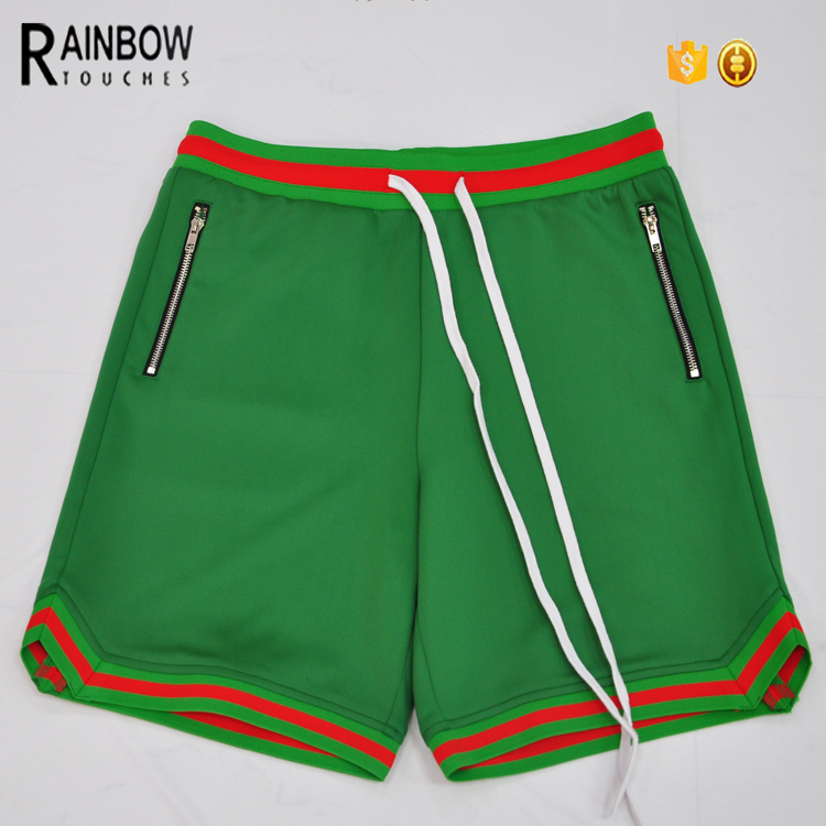 High Quality men's sport fitness gym 95%polyester 5%spandex men's shorts