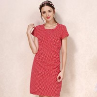 maternity clothes nursing summer clothing slim fit breastfeeding dress for pregnant women hot wholesal
