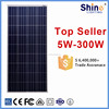1470*670*40mm Size and Best price per watt Polycrystalline Silicon Material solar panels 150 watt