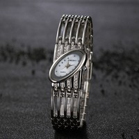 Fashionable Women Dress Watch Quartz Movement Analog Display Luxury Gift For Girl Female Wristwatches