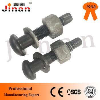 "Factory 5/8""-10 * 2"" 10.9S Steel Structural High Tensile Strength Control TC TS Bolt for building"