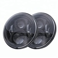 Super Bright IP67 60w 7 Inch Round Led Replacement Headlights for Jeep Wrangler