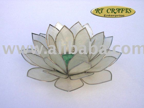 Lotus Candle Holder / Handmade Wedding Favor / Handicraft Gift Item