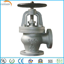 Cast Iron Screw Down Angle Type Safety Manual Valve