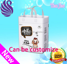 High quality pampering baby diaper produced by baby diaper change machine with baby diaper machine price