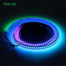 Individually addressable 1m waterproof ip65 5050 rgb 144 led/m 5v ws2811 ws2812 ws2812b led strip