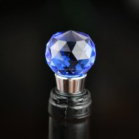 Wholesale high quality decorative crystal ball wine stopper