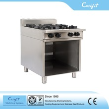 Freestanding Kitchen Equipment 4BBT 4 burners gas cooking range oven for sale