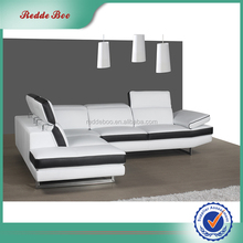 New design living room superb leather sofa