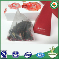 Detox rose tea bag vital for health.