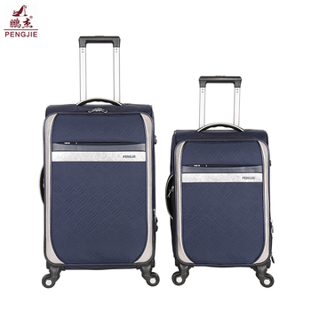 Low price high quality  Fabric Luggage Bag trolley case luggage