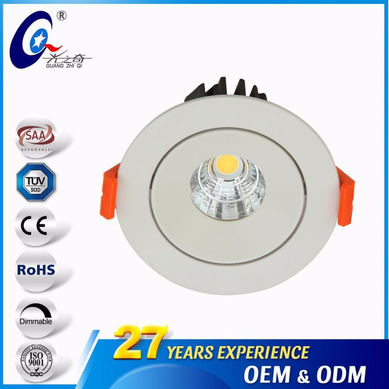 3Inch 7W/9W Round Dimmable Downlight Ceiling Led Lamp