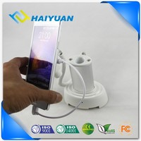 Retail store mobile phone security anti-theft ring display