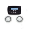 ATV /UTV speaker 6.5 inch waterproof marine speakers with mp3 player promotion