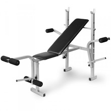 Home Gym Equipment Adjustable Backrest Inclinable Weight Bench