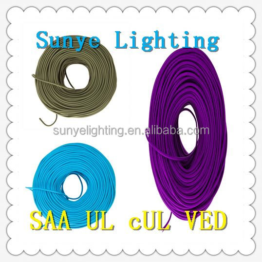 Canada cable,VDE,SAA,UL certificated textile cable heat resistance insulation ul 3239 wire