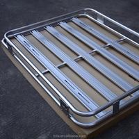 Tola universal aluminum auto car roof rack 4x4 luggage rack aluminum car roof rack frame, Universal Roof Tray