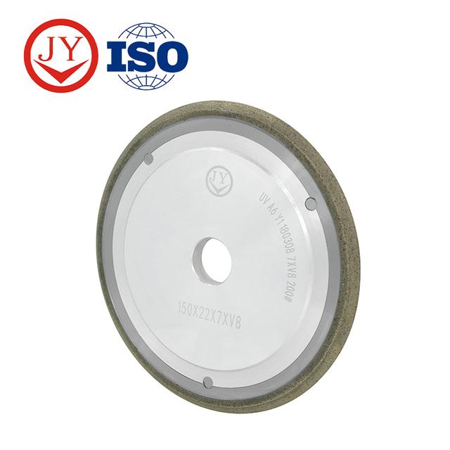 CNC machine V U shapes diamond profile grinding wheel for glass