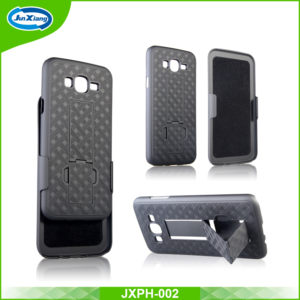 cheapest hard protective fancy stand cell phone case for samsung J3 2017