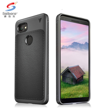 Wholesale soft tpu leather mobile cell phone case for google pixel xl 2 shockproof