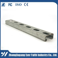 Galvanized C Beam Steel Strut Channel steel beam