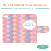 Full Size Printing Customized Sublimation Leather Cell Phone Case for iPhone5C