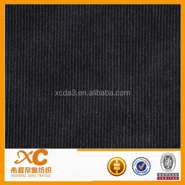 first class ladies high waist corduroy pants fabric made in china