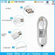 White Micro USB New USB 2.0 Data Charger Cable Cord Sync for samsung Galaxy S5 For Note 3 Micro USB Cable