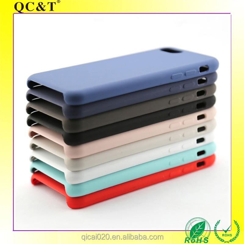 TPU Rubber Soft Back Cover for 7 plus Silicon