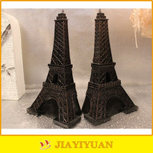 nonskid base bookends eiffel tower bookends resin bookends creative craft gift for home / office decoration