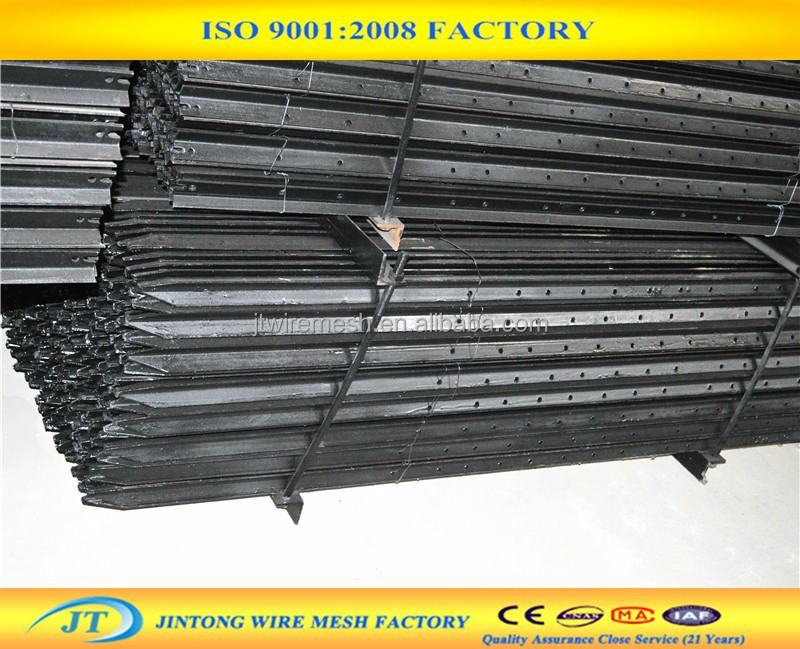 Hot sale support metal pole for fencing